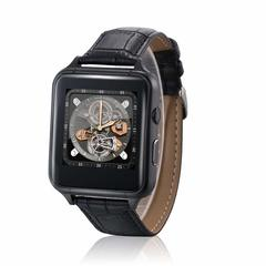 2EST  X7 Smart Watch Android 4.4 Bluetooth 1.54 Inch Phone Watch MTK6261A Camera black normal size