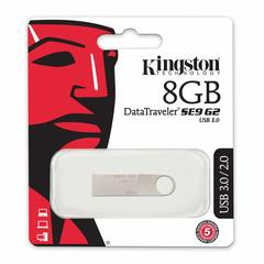 Kingston Digital  DataTraveler SE9 G2 USB 3.0 Flash Drive as shown kingston 16gb