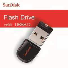SanDisk Mini USB Flash Thumb Drive Flashdrive flashdisk flash disk black sandisk 64gb