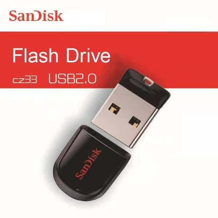 SanDisk Mini USB Flash Thumb Drive Flashdrive flashdisk flash disk black sandisk 64gb