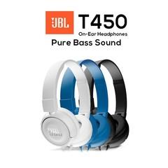 JBL T450  Stereo Headset Headphone Earphone for iPhone Samsung Android Earphones subwoofer Headset black