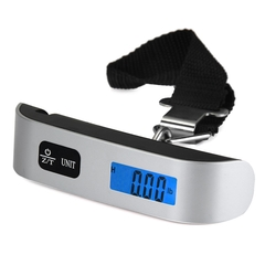 Hostweigh NS-14 LCD Mini Luggage Electronic Scale Thermometer 50kg Capacity Digital Weighing Device