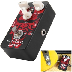 JOYO JF - 02 True Bypass Design Ultimate Drive Guitar Effect Pedal with 3 Adjustable Knobs