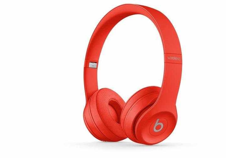 beats Solo 3.0 Wireless Bluetooth Headset Headphone FM AUX MIC red