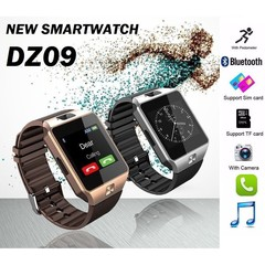 DZ09 Smart Watch New Version 2.0 With Phone/Camera/Bluetooth/MMC Smart Watches rose gold normal size