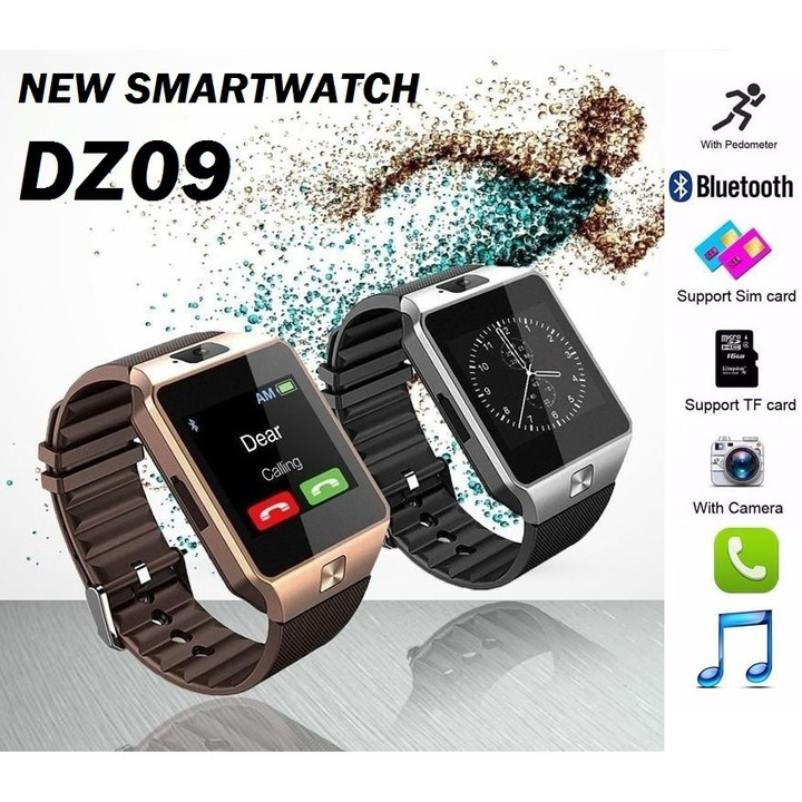 85be61fc8f8 DZ09 Smart Watch New Version 2.0 With Phone Camera Bluetooth MMC Smart  Watches