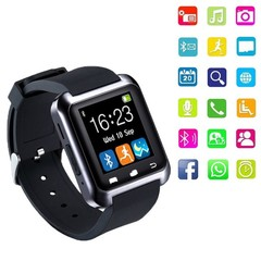 U8 Smartwatch Anti-Theft Children Smart Wrist Watch Support Call For Android Smart Watches white normal size