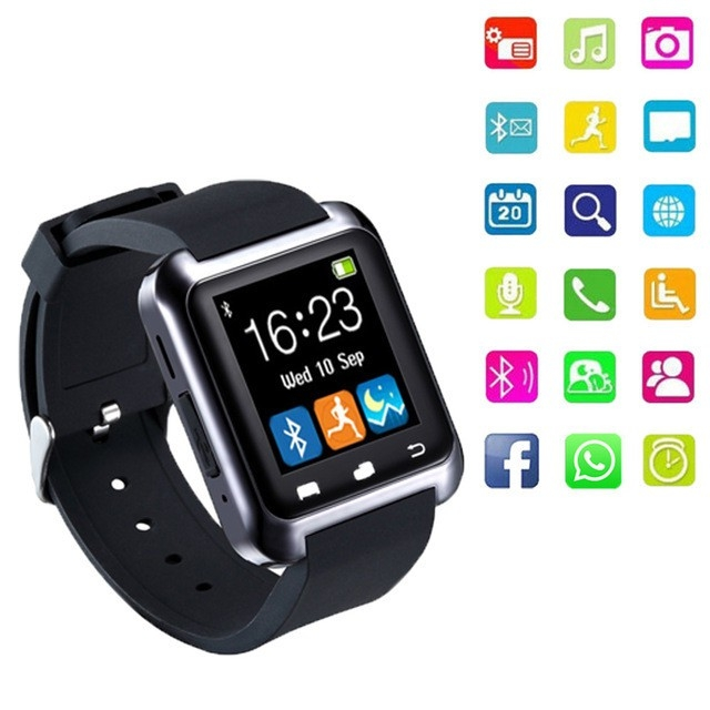 U8 Smartwatch Anti-Theft Children Smart Wrist Watch Support Call For Android Smart Watches black normal size