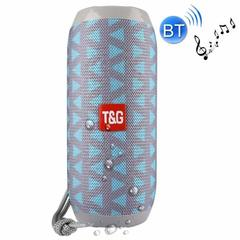 T&G TG117 Super Bass SplashProof subwoofer Wireless Bluetooth Speaker Bluetooth Accessories drak blue one size