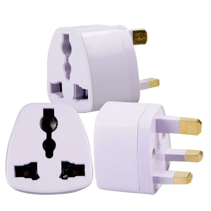 2EST UK Standard Plug British Standard Charger Power Adapter white 250V 10A Chargers white universal