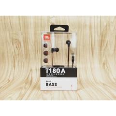 JBL T180A In-Ear Music Earphones 3.5mm Wired Stereo Headset black