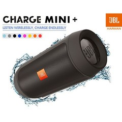 JBL Charge 2+ Splashproof Portable subwoofer Bluetooth Speaker Bluetooth Accessories black one size