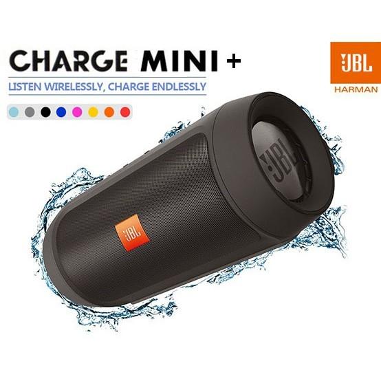 JBL Charge 2+ Splashproof Portable subwoofer Bluetooth Speaker Bluetooth Accessories black one size