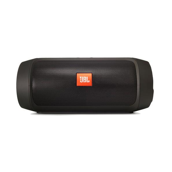 Refurbished JBL Charge 2+ Splashproof Portable subwoofer  Bluetooth Speaker Bluetooth Accessories black one size