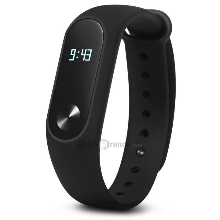 Original Xiaomi Mi Band 2 Smart Watch with Bluetooth 4.0 Smart Watche black normal size