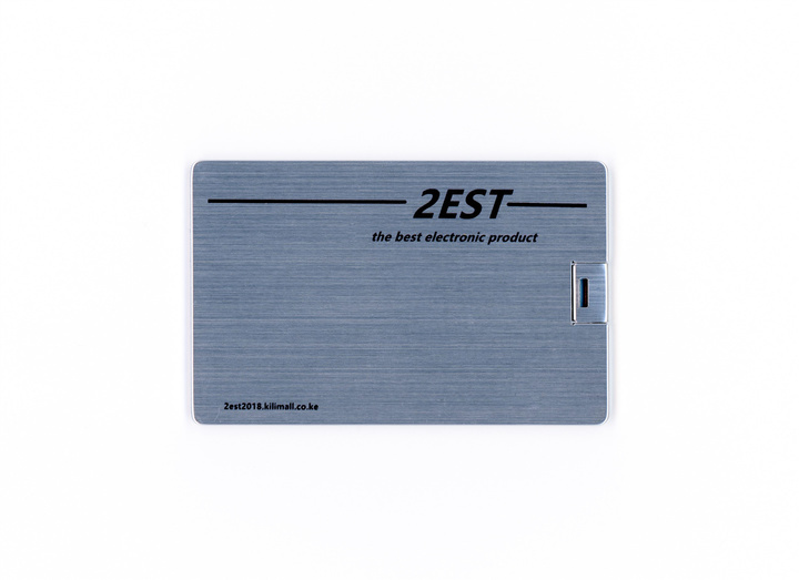 2est sliver Metal Card flash drive flash disk 32GB USB 2.0 Suitable for computers sliver 2est 32gb