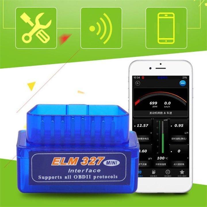 2EST Mini ELM327 OBD2 II Bluetooth Car Diagnostic Tool Portable Auto Scanner