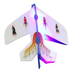 Slingshot LED Light Flare Catapult Airplane Outdoor Toy for Kid