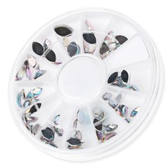 Crystal Nail Art Rhineston Decoration Mix Sizes Glitter Nail Beads