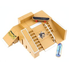 5pcs Skate Park Kit Ramp Parts for Tech Deck Fingerboard