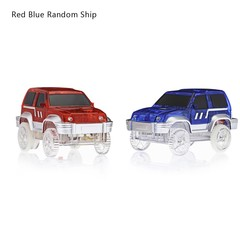 LED Light Racing Track Car Toy Not Include Battery