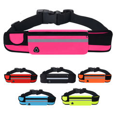 2EST Unisex outdoor multi-function running bag Red One Size