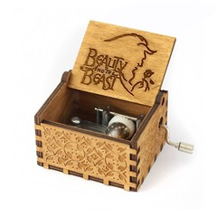 Pure Manual Wooden Game Music Box