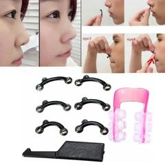 1 Set Nose Up Lifting Shaping Clip Clipper Shaper Beauty Tool 3 Size No Pain pink