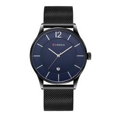 CURREN Men's Steel Strip Calendar Casual Business Quartz Watch