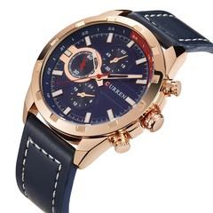 CURREN 8216 Men's Quartz Watch Leather Strap