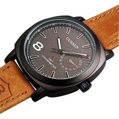 CURREN Men Leisure Sports Abrasive Belt Military Quartz Wrist Watch