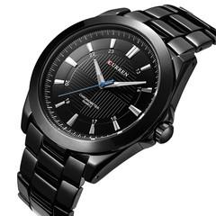 CURREN Men's Casual Business Quartz Steel Strap Watch