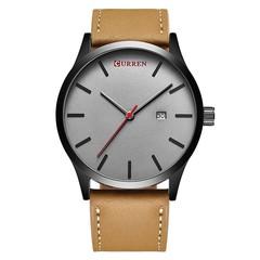 CURREN Men's Casual Fashion Business Belt Watch