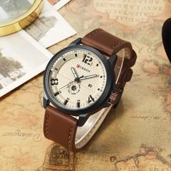 CURREN 8253 Waterproof Japan Movement Quartz Watch Calender Wristwatch for Men