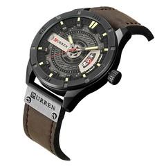 CURREN Quartz Calendar Casual Business Belt Men's Watch