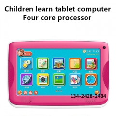 Children learn Tablet PC electronic toys blue one size