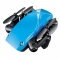 Mini folding drone children's toys with high cost performance and high-definition aerial photography blue no camera