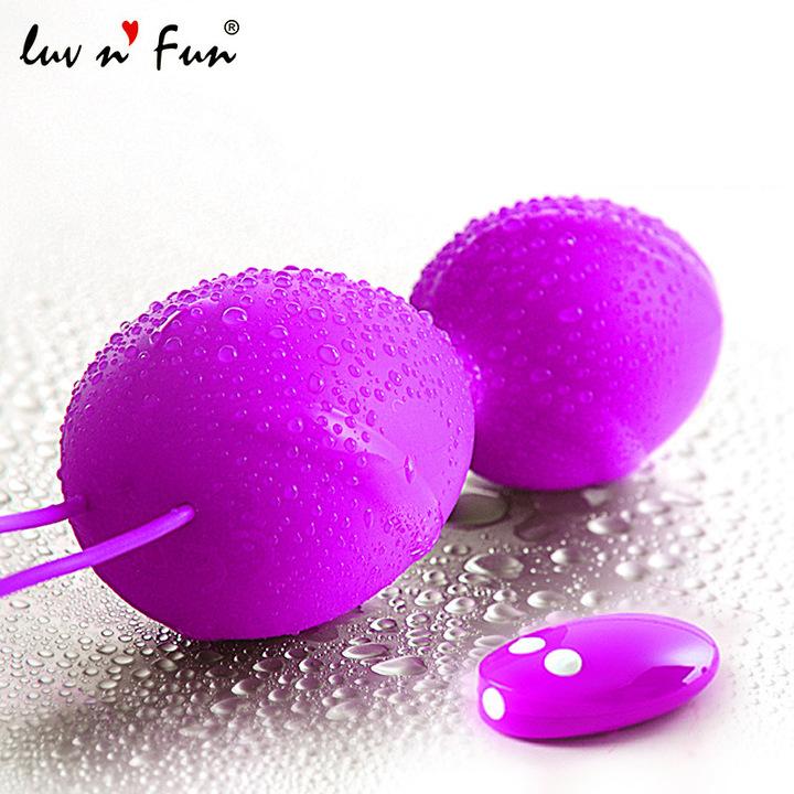 Purple sex toys