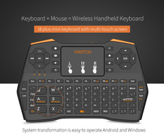 i8 plus Wireless remote control keyboard Game controllers gamepad 2.4G