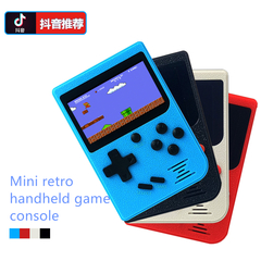 Mini retro handheld game console 2.4 inch color screen 129 games kid toy
