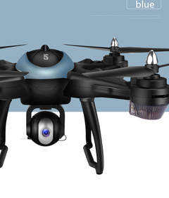 Professional aerial photography quadcopter 1080P drone GPS Automatic follow camera blue 1080p