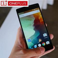 One Plus 1 Refurbished 3+64GB Qualcomm 801 LTE SIM 5.5-inch 1080P screen 13MP Camera black