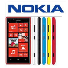 Stock New NOKIA Lumia 720 4.3-inch 3G SIM windows phone 6.7MP Camera Qualcomm Processor black