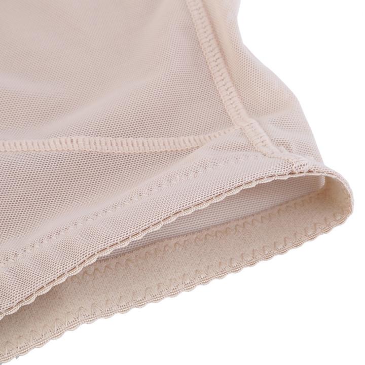 b6d154ac6 Female Shapewear Butt-Lifting Mesh Underwear Sexy Body Sculpting hip pants  Mesh Pants apricot color