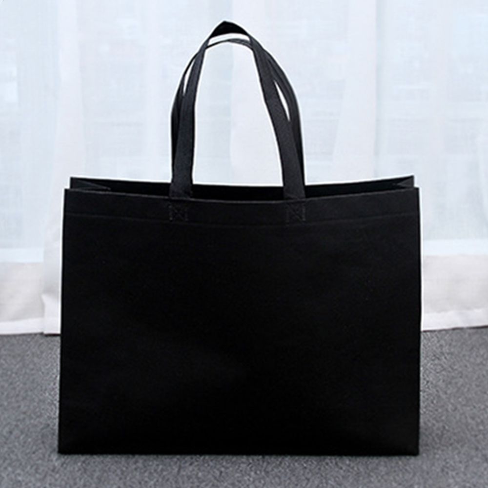 155607e6b8d3 30pcs 45x35x12cm Environmental Protection Non-woven Bag Environmental Bag  Shopping Bag Handbag Black  Product No  10180864. Item specifics  Brand