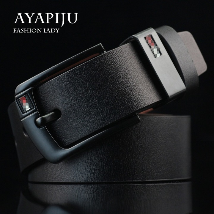 ChenKe Luxury leather belt men's belts men's jeans retro black wide strap belt strap brown black uniform code