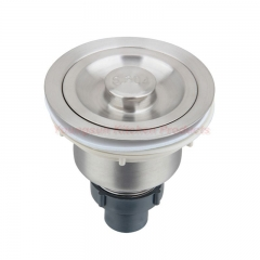 Good Quality and Economic Stainless Steel Kitchen Sink Drainer Strainer brushed finish one size