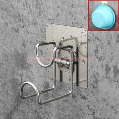 Adhesive Nail-free NO Drilling Bathroom Rack and Shelf Wash Basin Hanger Basin Holder Basin Hook Brushed Finish
