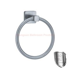 Luxury Bathroom Products 304 Stainless Steel Towel Ring Towel Hanger Towel Hook Towel Holder brushed finish round