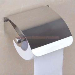 Cheap Bathroom Fittings Stainless Steel Toilet Paper Dispenser Toilet Tissue Paper Roll Holder mirror finish wall mounted